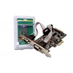 DIGITUS Serial V0, 2-port PCI Express Card
